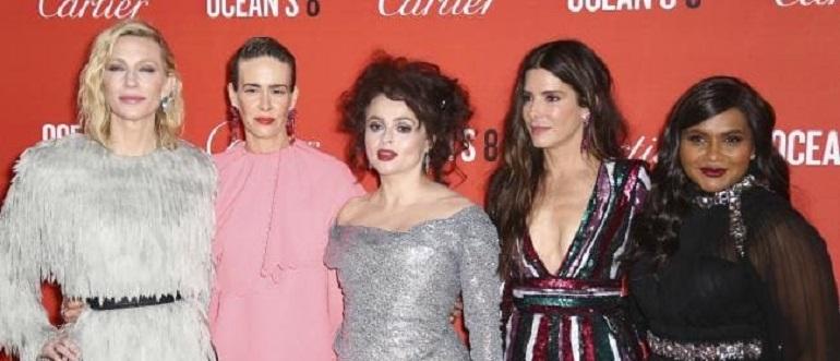 Фото с красной дорожки лондонской премьеры «8 подруг Оушена»