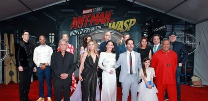 Звёзды на красной дорожке мировой премьеры «Человек-муравей и Оса»: фото