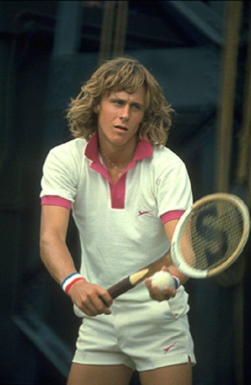 1974 году Бьорн Борг дошел до третьего раунда турнира