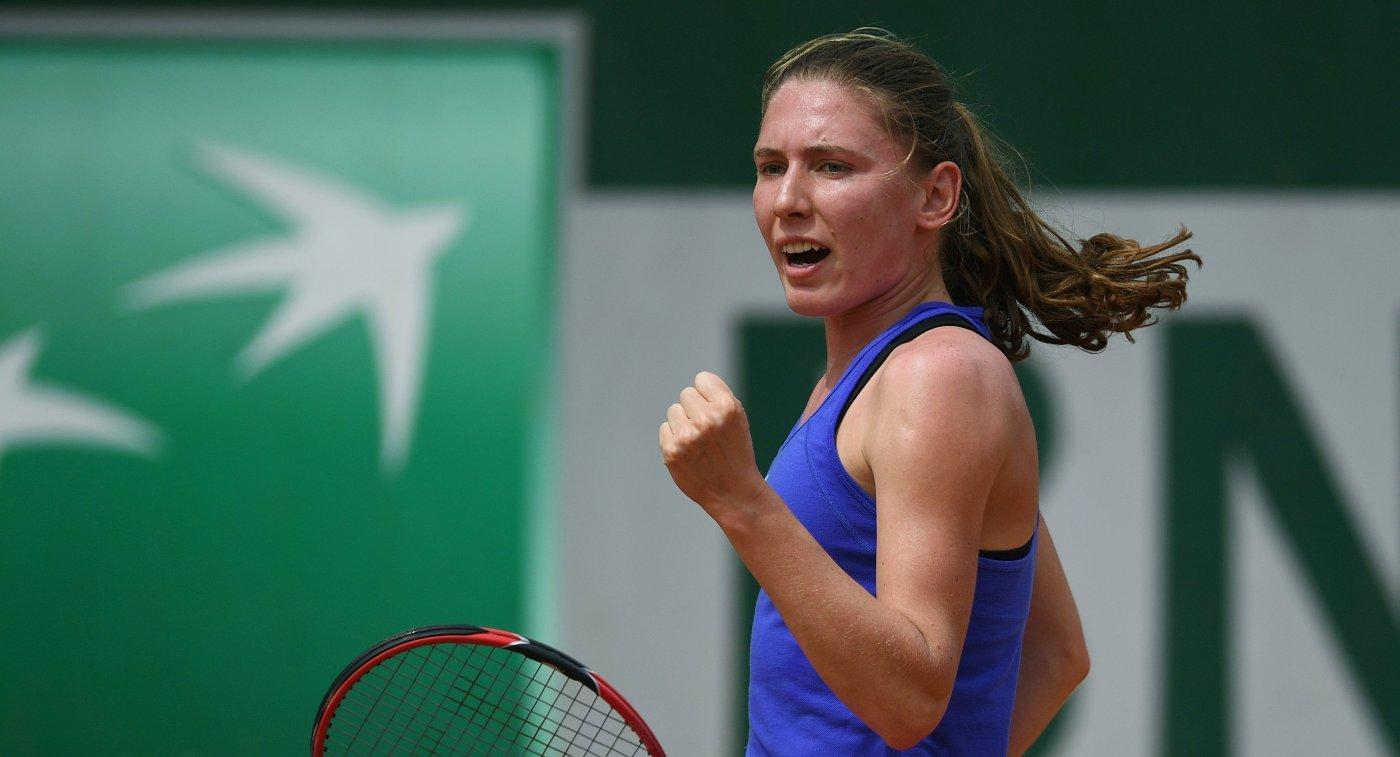 Екатерина Александрова - одна из участниц Уимблдона