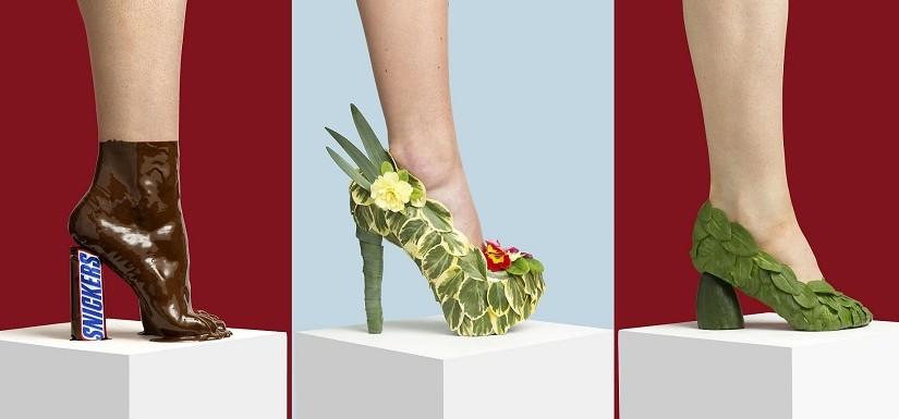 Датский фотограф создал уникальную коллекцию обуви из бытовых предметов: фотоподборка