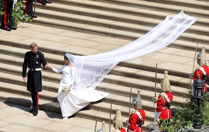 Меган Маркл: фото со свадьбы с Принцем Гарри