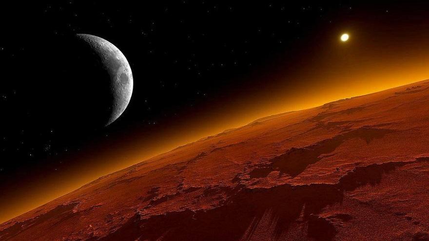 Фото Марса с космоса