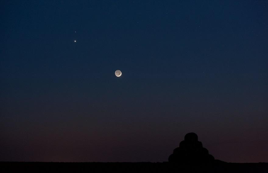 Фото Марса с Земли