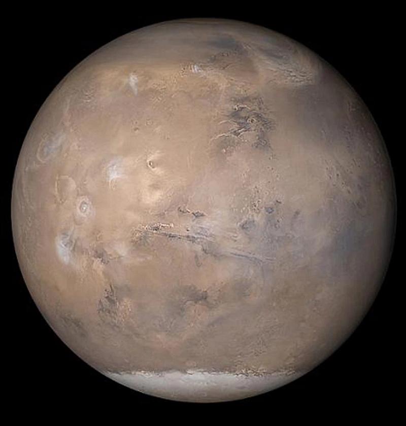 Марс из космоса: фото