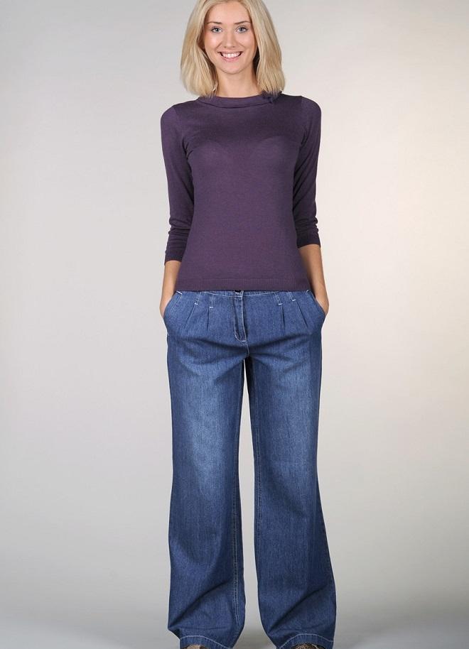 Модные джинсы в стиле 90-х-05