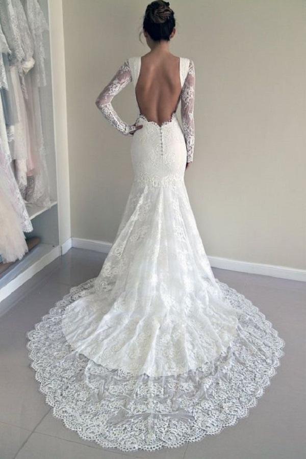 Модные свадебные платья 2018-01