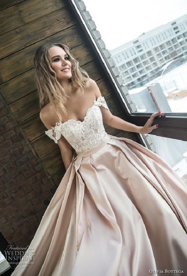 Модные свадебные платья 2018-02