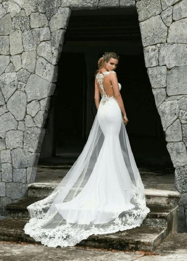 Модные свадебные платья 2018-03