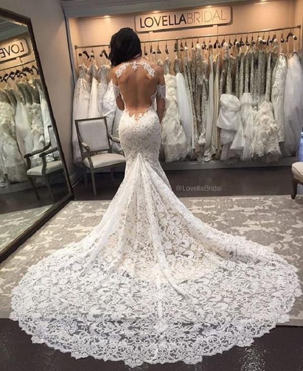 Модные свадебные платья 2018-04