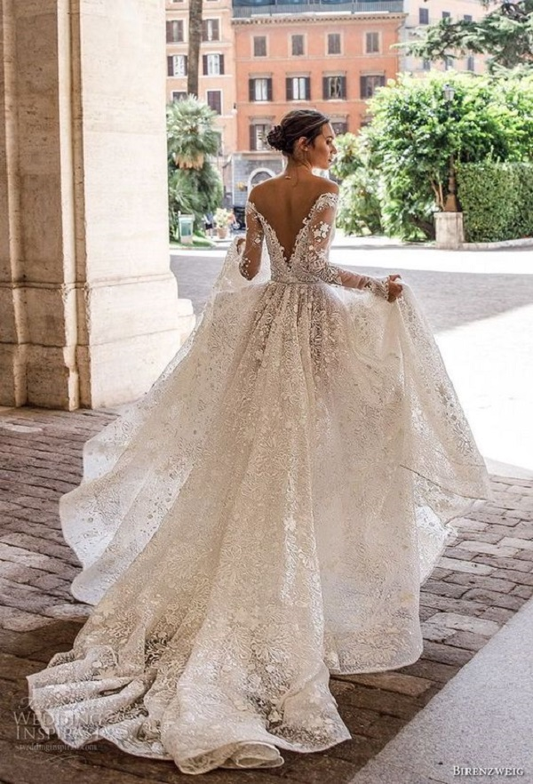 Модные свадебные платья 2018-05