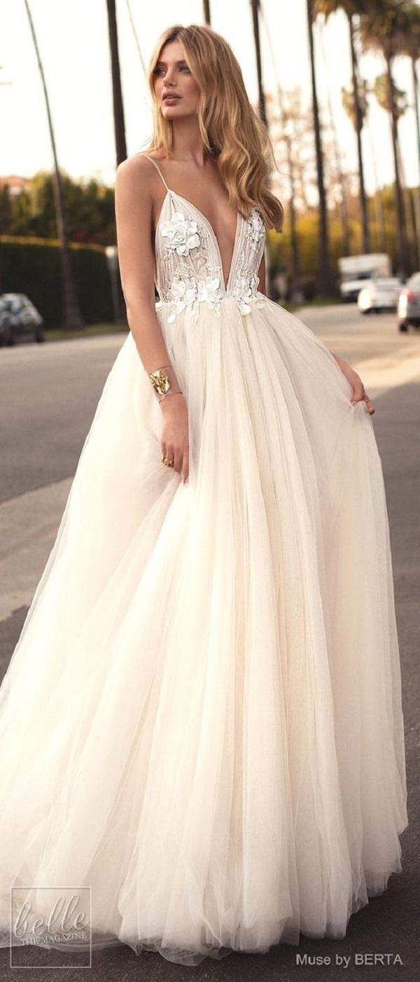 Модные свадебные платья 2018-07