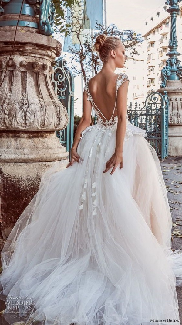Модные свадебные платья 2018-08