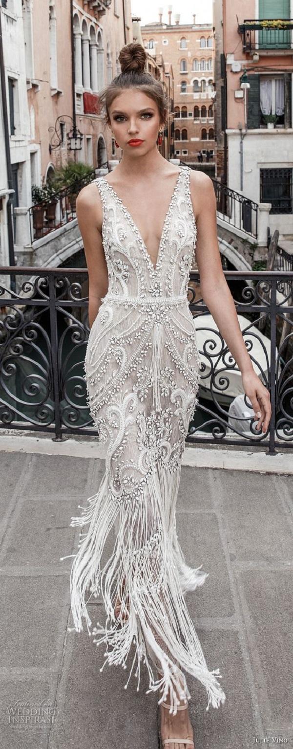 Модные свадебные платья 2018-10