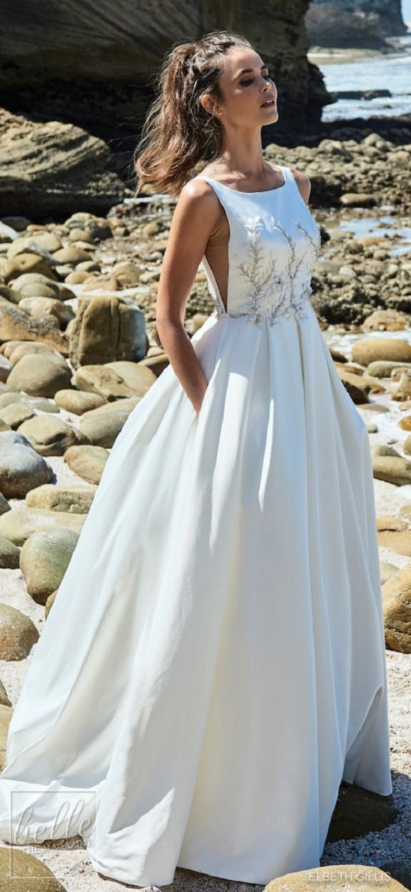 Модные свадебные платья 2018-11