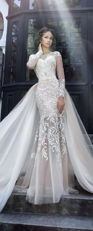 Модные свадебные платья 2018-13