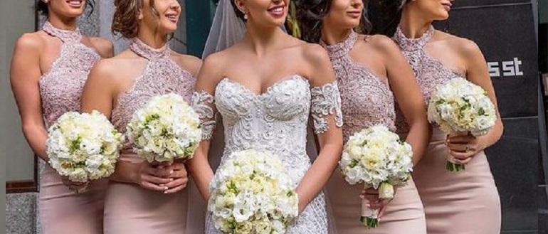 15 самых стильных платьев для подружек невесты