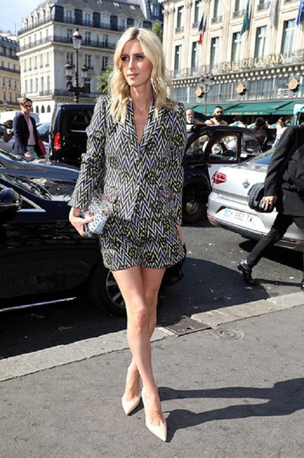 Ники Хилтон на Неделе высокой моды в Париже