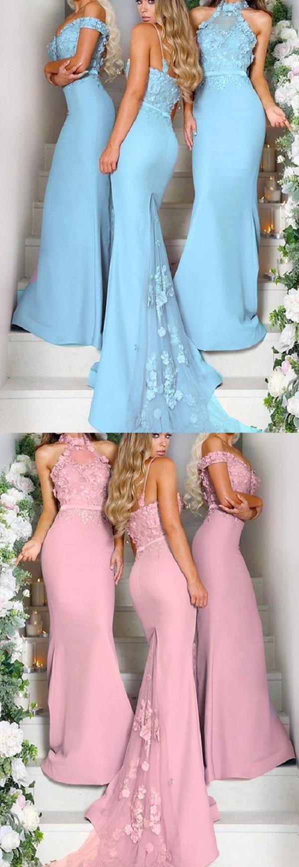 Платья подружек невесты-11