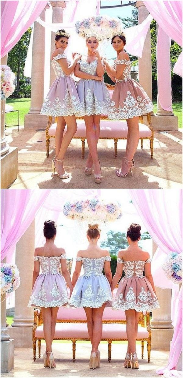 Платья подружек невесты-15