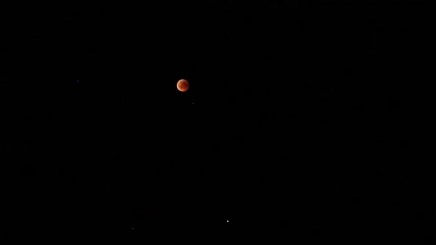 Противостояние Марса и лунное затмение 2018