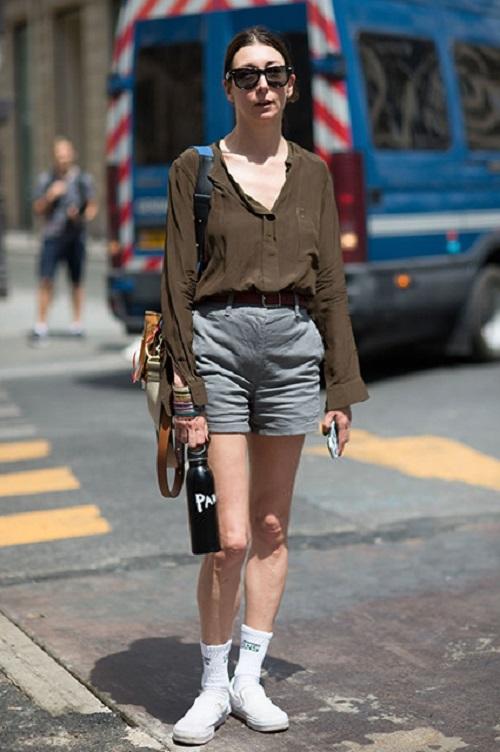 Стрит-стайл Парижской недели моды-09