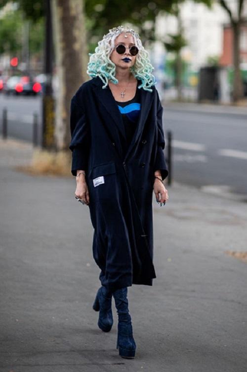 Стрит-стайл Парижской недели моды-10