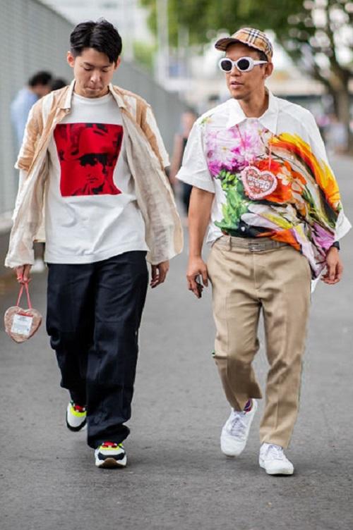 Стрит-стайл Парижской недели моды-11