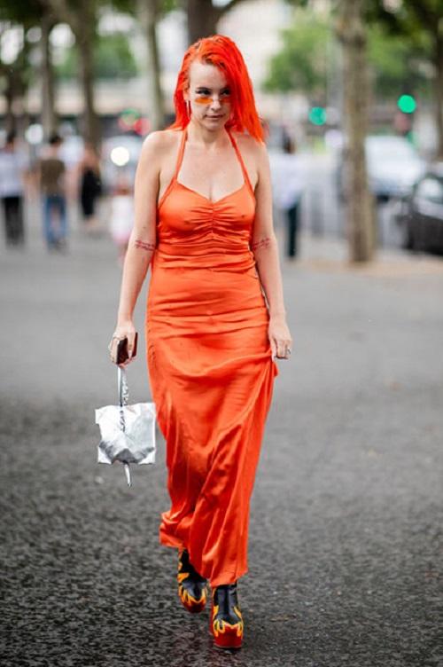 Стрит-стайл Парижской недели моды-12