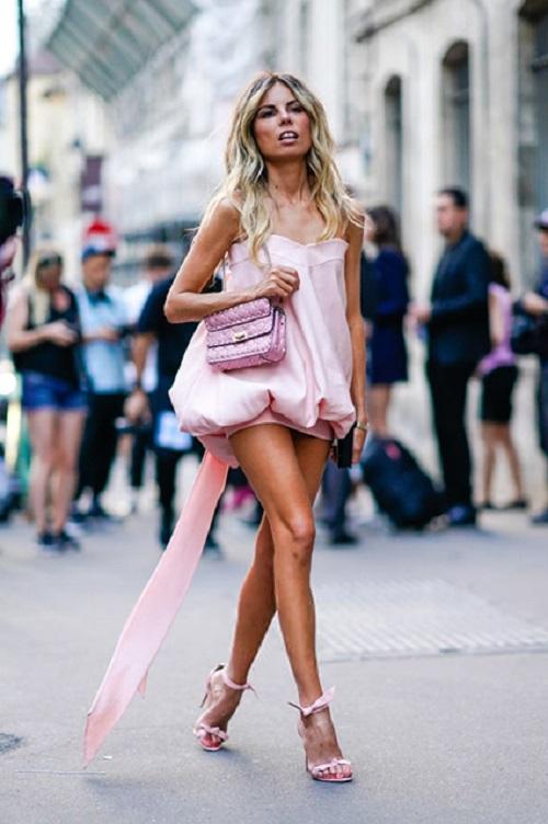 Стрит-стайл Парижской недели моды-14
