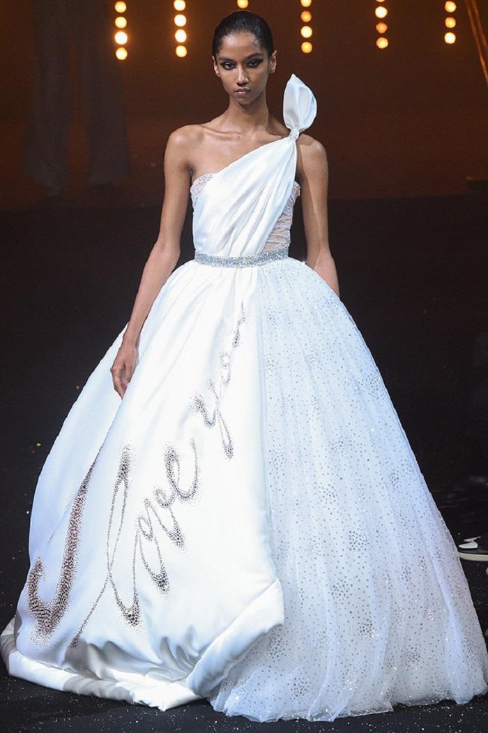 Свадебное платье от Viktor&Rolt Couture осень - зима 2018