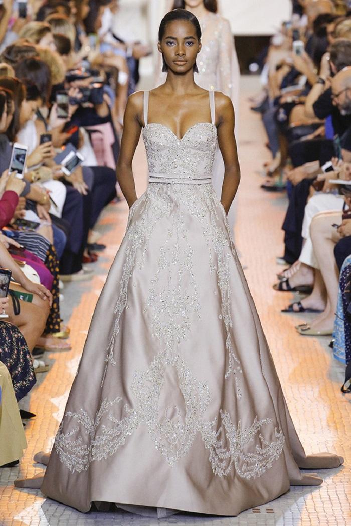 Свадебное платье от Elie Saab Couture осень - зима 2018