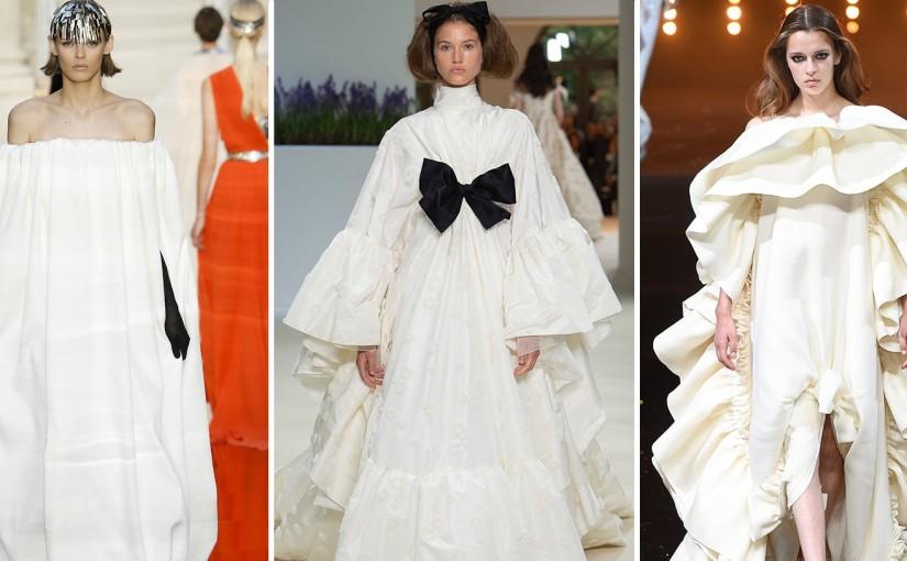 Свадебные платья осень-зима 2018