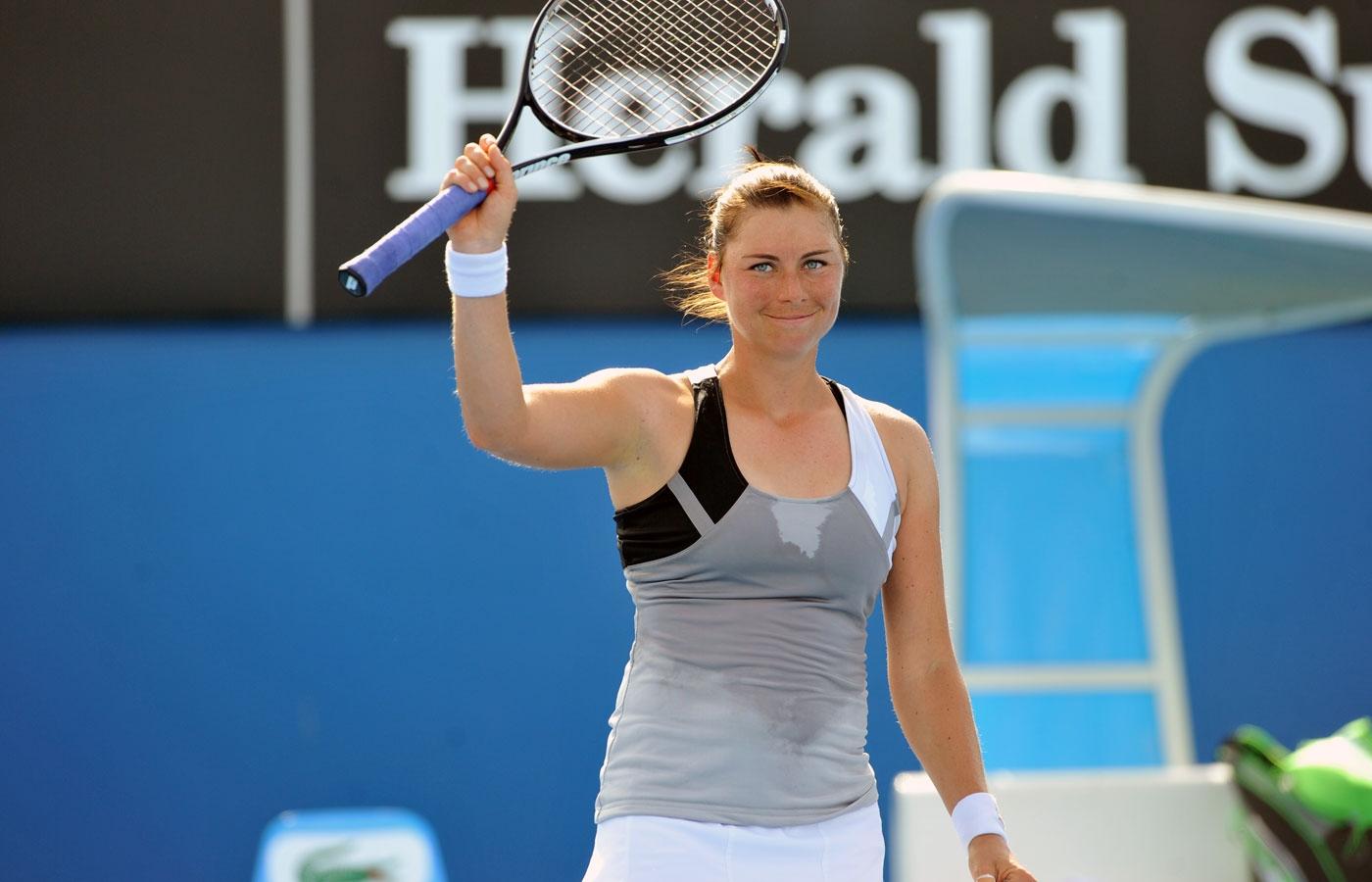Вера Звонарева в первом круге сыграет с Анжелик Кербер