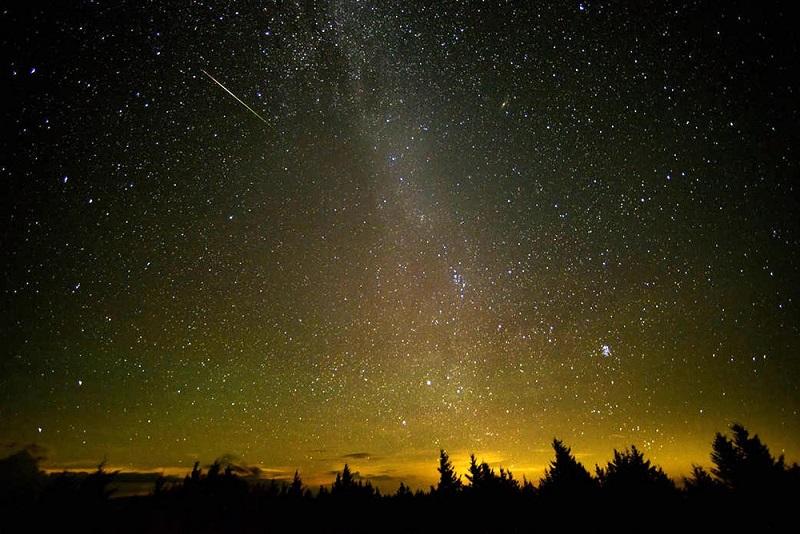 Звездопад Аквариды: фото
