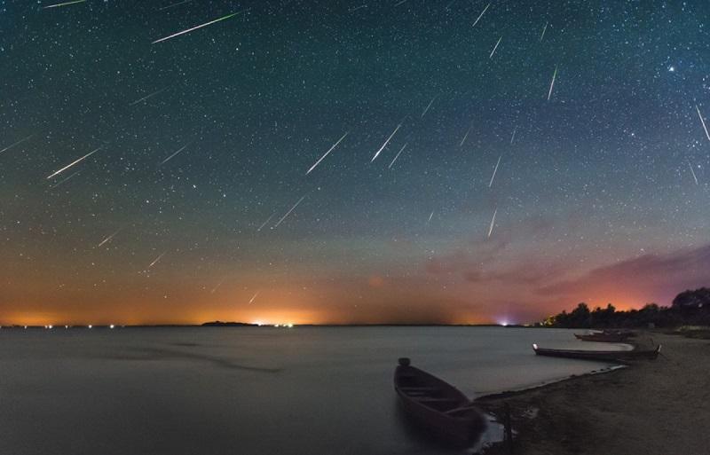 Звездопад Ариетиды: фото, описание