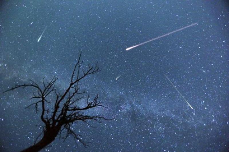 Звездопад Ариетиды: описание звёздного дождя