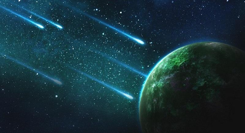 Звездопад Геминиды: описание звездопада