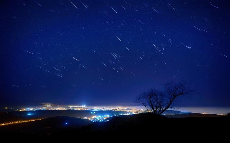 Звездопад Геминиды: фото