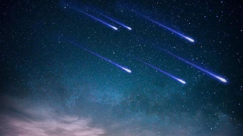 Звездопад Леониды: описание