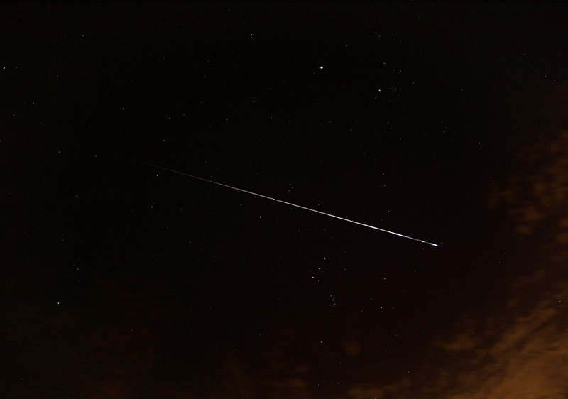 Звездопад Ориониды: фото