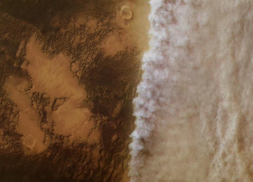 Фото Марса с поверхности