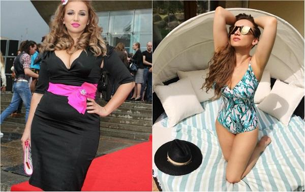 Звёзды до и после похудения: фото российских знаменитостей