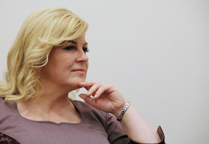 Колинда Грабар Китарович: фото Президента Хорватии