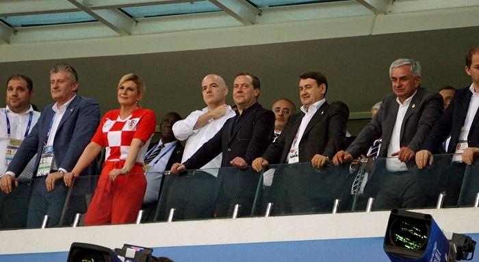 Колинда Грабар Китарович: фото на Чемпионате мира по футболу – 2018