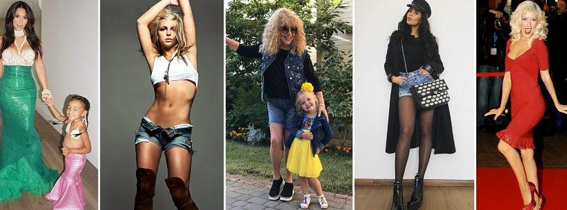 Фото знаменитостей до и после похудения
