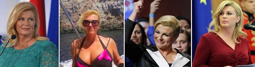 Самые лучшие фото Президента Хорватии Колинды Грабар-Китарович