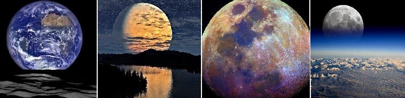 Самые невероятные фото Луны, от которых захватывает дух