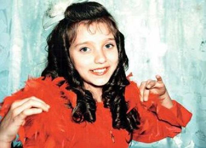 Регина Тодоренко: детские фото